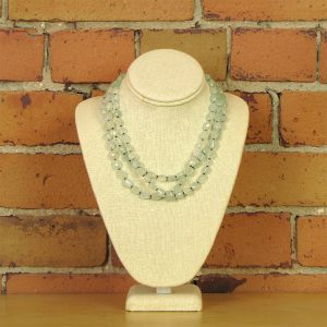 faceted-aquamarine-18inch-multi-strand-necklace-with-sterling-spacers-and-clasp