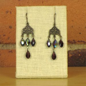 swarovski-pear-shaped-crystals-on-sterling-earring-findings
